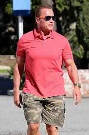 Arnold Schwarzenegger Halloween Costume Arnold Schwarzenegger Takes Girlfriend Heather Milligan