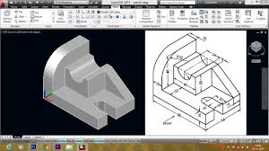 autocad mechanical modeling part1 making a 3d model youtube