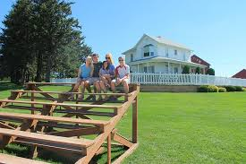 farmhouse movie bleachers and the farmhouse picture of field of dreams movie site