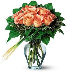 flowers delivery nyc perfectly peachy roses nyc flower delivery