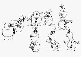 coloring frozen coloring pages printable olaf to print for girls