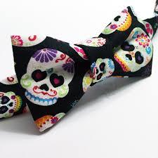 dia de los muertos sugar skulls bow tie toddler child photo