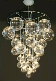Black Chandelier Floor Lamp by Modern Led Chandelier Lighting Crystal Ball Fixture Pendant