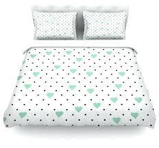 seafoam green duvet covers project m pin point polka dot mint green white duvet cover cotton