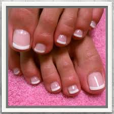 the perfect french manicure goes with anything and looks classy
