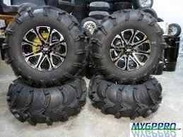 itp mud light tires mygppro itp mud lite tire wheel kit