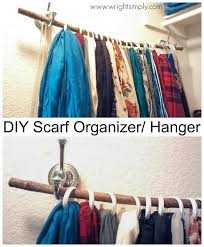 How To Hang Scarves On Curtain Rods by Ideas Ladder Storage Ideas Belt Hangers For Closet Scarf