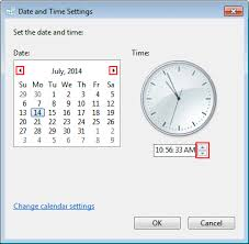 how to set the date and time