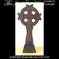 wooden celtic cross celtic cross wall standing