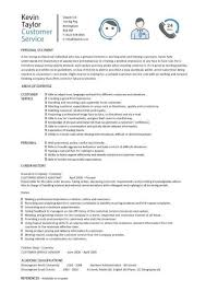 Customer Service Example Resume by Customer Service Resume Templates Skills Customer Services Cv