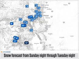 Canon City Colorado Map by Dry Weekend Then Stormy Early Next Week Colorado Daily Snow