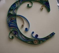 quilled monograms cheap easy no special equipment 6 steps