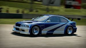 bmw m3 gtr e46 nfs shift 2 unleashed hd bmw m3 gtr e46 most wanted edition on
