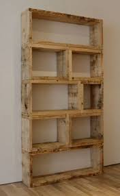Wood Shelf Plans Diy by Best 25 Homemade Bookshelves Ideas On Pinterest Homemade Shelf