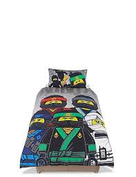Lego Bedding Set Ninjago Lego Bedding Set M S