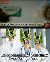 Cell Meme - top memes de en ese momento cell sinti祿 el verdadero terror en