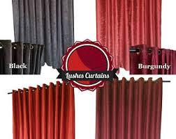 Burgundy Velvet Curtains Direct Velvet Curtain Manufacturer Custom By Lushescurtains