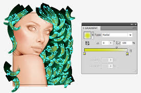 illustrator tutorial vectorize image to create a vector portrait with curly hair in adobe illustrator