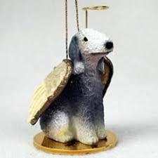 bedlington terrier seattle dog angel ornaments dog breed christmas ornaments dog memorials