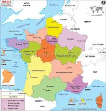 province france regions of france france regions map
