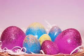 glitter easter egg ornaments how to make glitter easter eggs 98 5 kygo