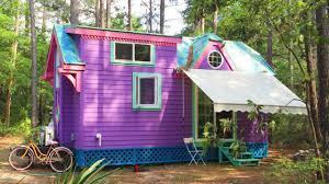 purple ravenlore house as seen on hgtv lovely tiny house youtube