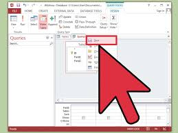 how to create action queries in microsoft access 11 steps
