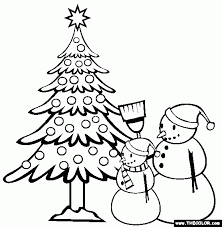 christmas online coloring pages page 1 pertaining to colouring