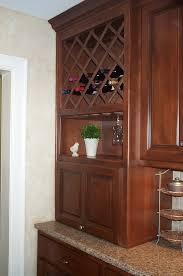 kitchen cabinet with wine rack alkamedia com