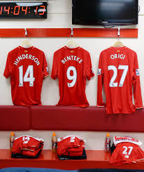 Dressing Room Pictures Inside The Liverpool Dressing Room As Reds Prepare For West Brom