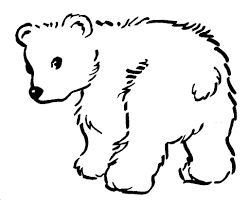 baby bear coloring pages coloring pages kids