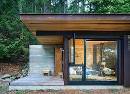 one room home small one room house located in the woods modern house plans