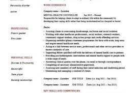Mental Health Resume Examples by Behavioral Health Counselor Resume Sample Reentrycorps
