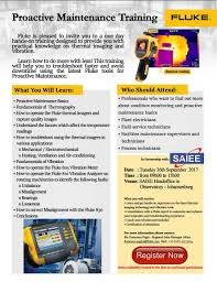 fluke proactive maintenance training