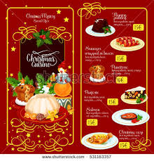 asian food menu template traditional chinese stock vector