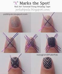glitter nail art striping tape nail art pictorial using striping