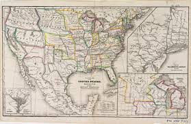 map of us states political 1845 political map set 2 mapping the land its unit 1