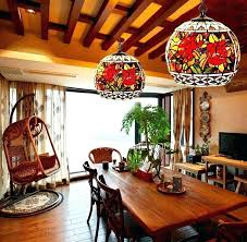 stained glass dining room light stained glass dining room light fixtures and stained glass pendant