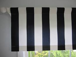Blue And White Vertical Striped Curtains 2 Curtains Valances Window Curtains Set Of 2 By Cottagehomecouture