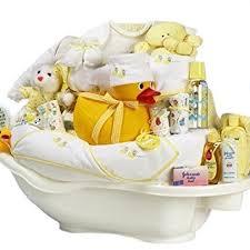 bath and gift baskets rub a dub tub gender neutral new baby bath time gift