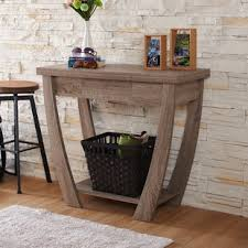 Wood Sofa Table Wood Console Sofa Tables You Ll Wayfair
