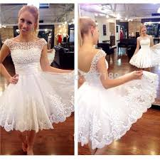 aliexpress com buy new white short wedding dresses the brides