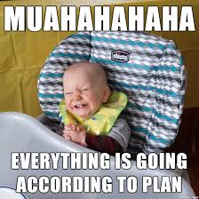 Meme Baby Products - scheming baby meme on imgur