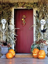 Decorating The House For Halloween Cute Halloween Front Porch Decorations To Greet Your Guests
