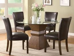 small formal dining room square flat dining chairs corner black
