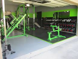 awesome home garage gym just for the health of it pinterest