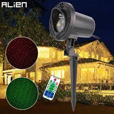 motion laser light projector alien red green motion star dots xmas laser light show projector