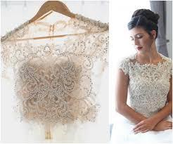 princess two piece wedding dress flowing silk skirt and beaded