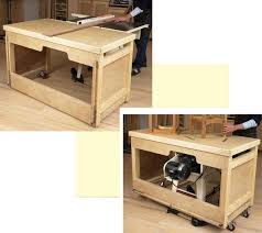 table saw workbench plans space saving double duty tablesaw workbench woodworking plan from