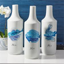 Fish Home Decor Accents Blue White Home Decor Blue White Home Accessories Blue White
